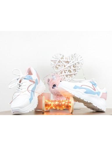 Sneaker Pinkablue